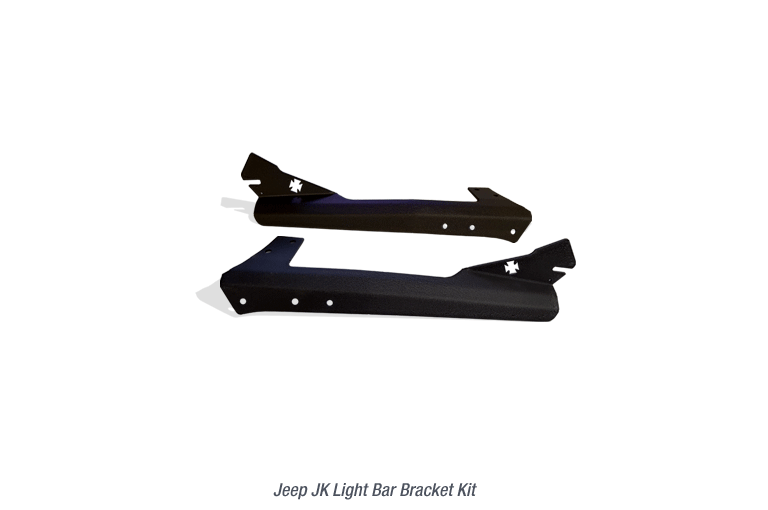 Light Bar Bracket for Jeep JK Light Bars