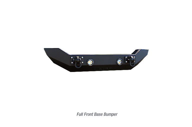 Full Front Base Jeep Bumper