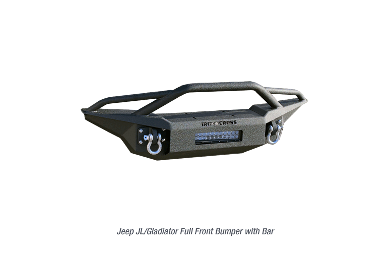 Gladiator Full Front Base Bumper with bar