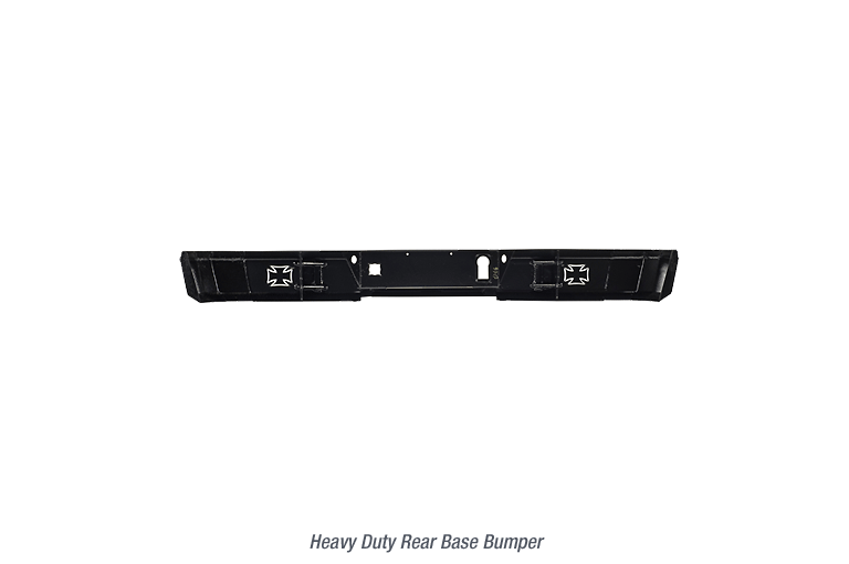 Heavy Duty Rear Base Bumper