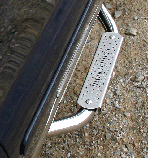 Stainless Steel Plus Step Detail